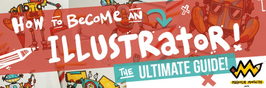 How to Become an Illustrator Banner